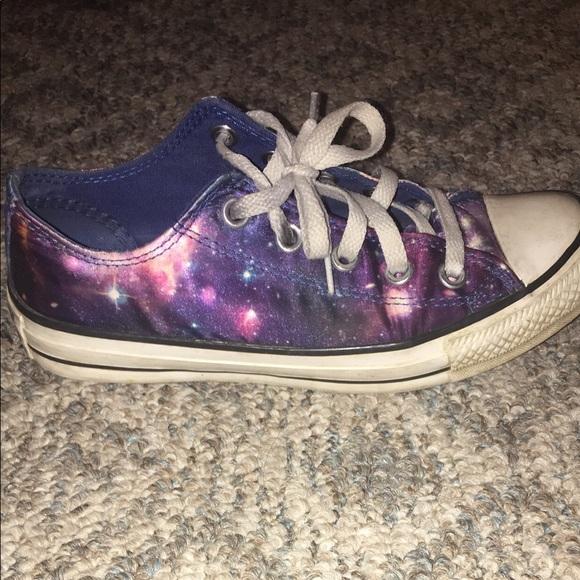 Converse Shoes | Galaxy Converse | Poshmark